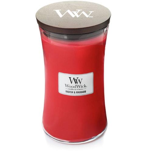 Woodwick Radish & Rhubarb - Groß