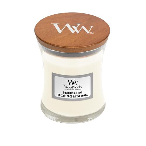 Woodwick Coconut & Tonka - Mini
